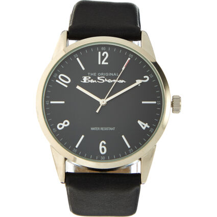 Black & Stainless Steel Watch