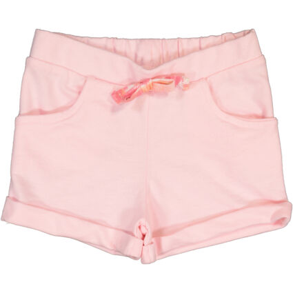 Pink Bow Front Shorts