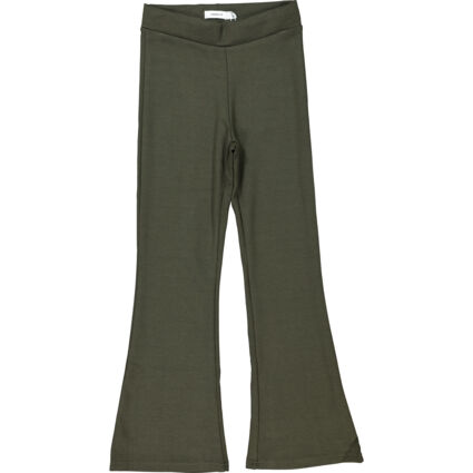 Forest Night Bootcut Jersey Trousers