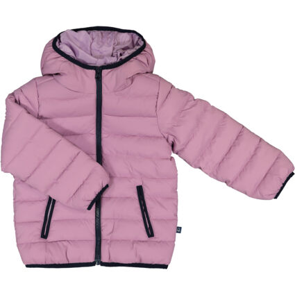 Pink Puffer Hooded Jacket