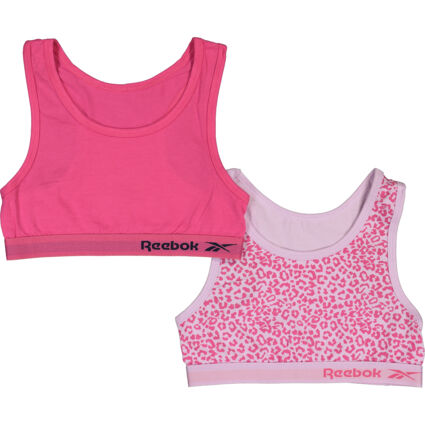 Two Pack Pink Crop Tops