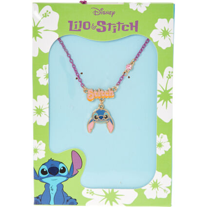 Multicoloured Enamel Charm Necklace
