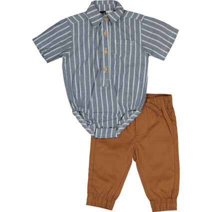 Muli Colour Shirt & Trousers Outfit