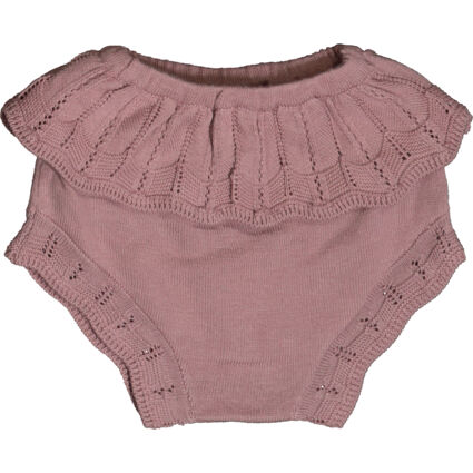 Pink Knitted Bloomers