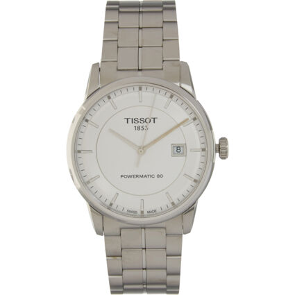 Silver Tone Stainless Steel Automatic Watch