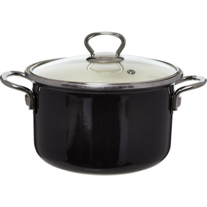 Black Multi Use Oven Dish With Handles & Lid