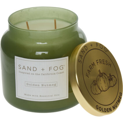 Golden Nutmeg Scented Candle 482g