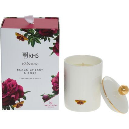 Black Cherry Rose Candle 190g