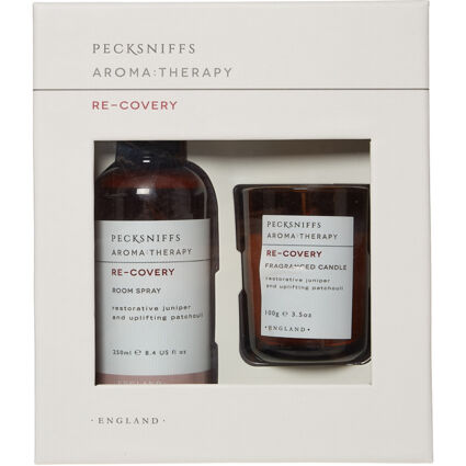 Re-covery Room Spray & Fragranced Candle Set