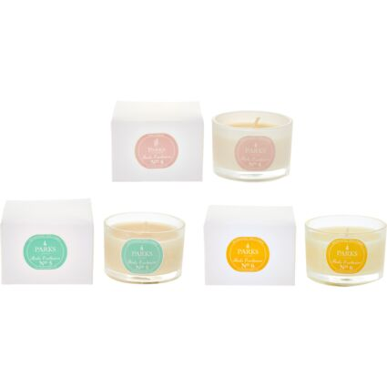 Three Pack Scented Candles
