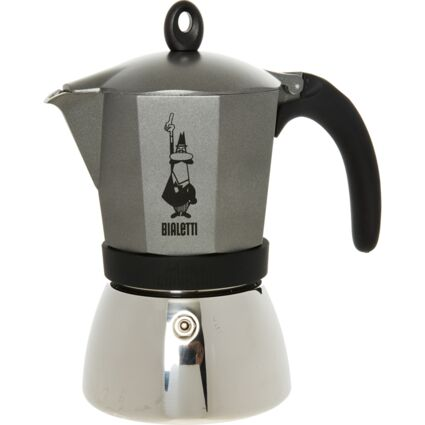 Anthracite Moka Induction Cafetiere 22x12cm