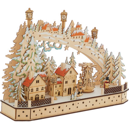 Wooden Christmas Theme Ornament
