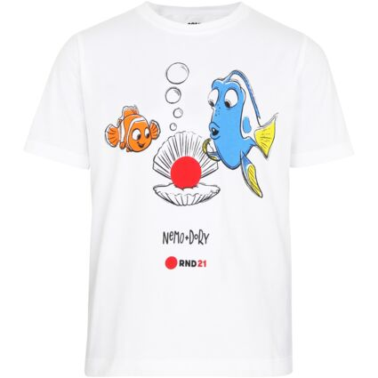 Kids Nemo White T Shirt Ages 7 to 12 Years
